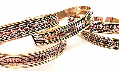 Magnetic Copper Bracelet /Bangle- Pain Relief Therapy - Arthritis -Unisex Bangle
