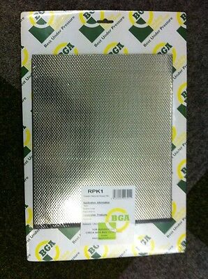 Exhaust Gasket Material Universal 1 x sheet metal gasket and 1 x sheet paper