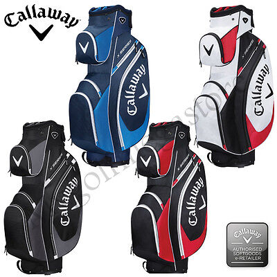 2017 Callaway Golf X Series Cart/Trolley Golf Bags - 4 Colours - New