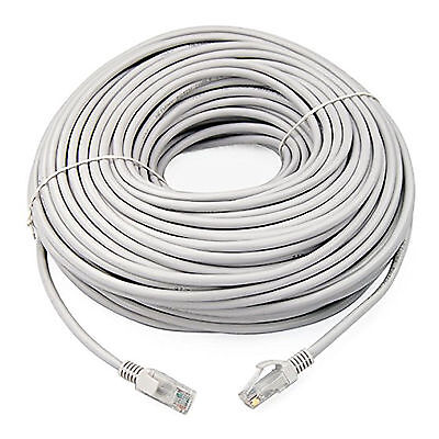 20m Network Ethernet RJ45 Cat5E PATCH Cable Lead Network Sky Modem LAN Router