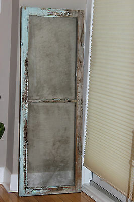 Vintage/Shabby Chic Old Antique Wood Window with 2 Panes
