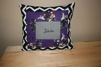Nightmare before Christmas personalized pillow