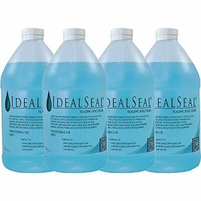 Four Half Gallons Sealing Solution For Pitney Bowes, Neopost, Hasler, Postalia