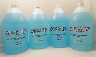 Four Gallons Sealing Solution For Pitney Bowes, Neopost, Hasler, Postalia