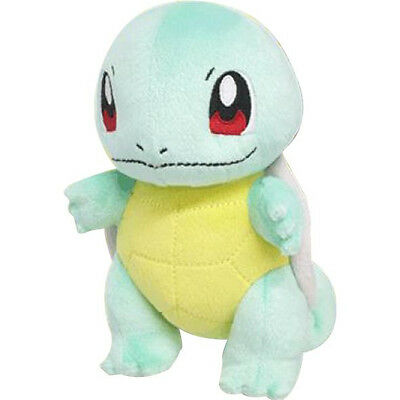 "Sanei Pokemon Go Plus All Star Collection - PP19 - Squirtle 6"" Plush Doll"