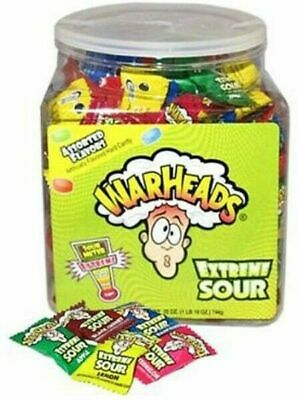 240 x WarHeads Extreme Sour Bulk Lollies Birthday Party Favors Confectionery