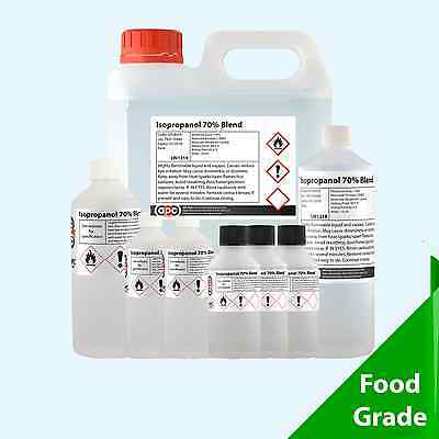 Rubbing Alcohol 70% (Isopropanol 70%) - Choose your Pack Size 50ml - 25L[100ml]
