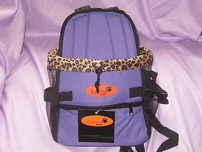 Pet Carrier Soft Sided Small Cat / Dog Comfort PURPLE  Travel Bag