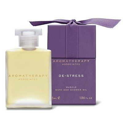 Aromatherapy Associates De-Stress Muscle Bath and Shower Oil 55ml Body Care