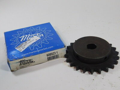 Martin 60BS23 3/4″ Pitch, 1″ Bore Sprocket - NEW Surplus!