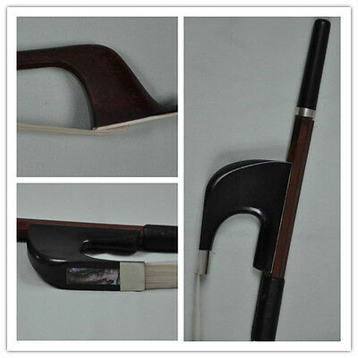Good 4/4 German Pernambuco Double Bass Bow Ebony Frog high quality 118