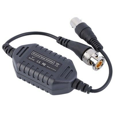 CCTV Balun Ground Loop Isolator Coaxial BNC Male to Female for Audio Video QT
