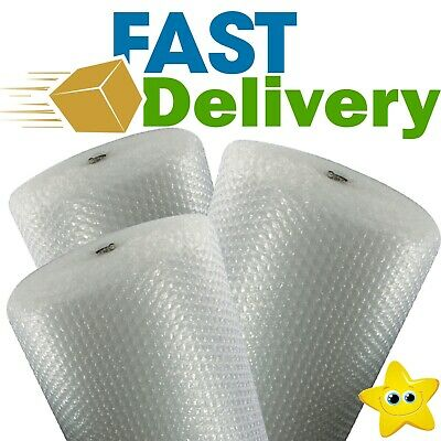 LARGE BUBBLE WRAP ROLLS - CHOOSE WIDTH (300mm, 500mm, 750mm)