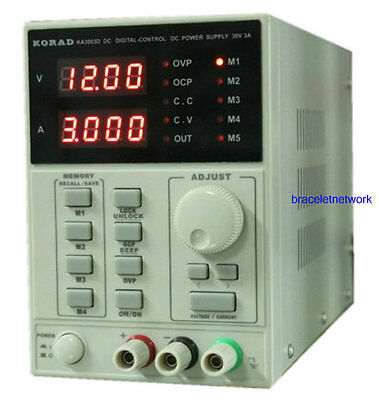 220V Lab Equipment 30V 5A DC Power Supply Precision Variable Adjustable KA3005D