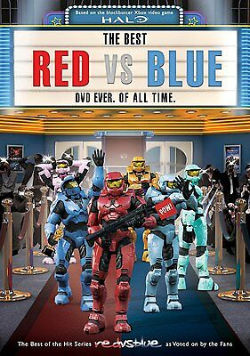RED VS BLUE : THE BEST DVD EVER OF ALL TIME (Halo) -DVD - UK Compatible