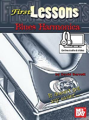 Beginner First Lessons Blues Harmonica Book