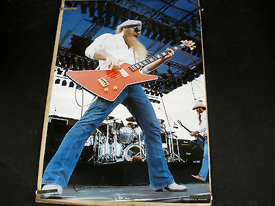 Rare Zz Top 1984 Vintage Original Music Poster