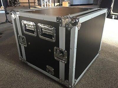 Road Ready Cases RR8UADS Amplifier Case Shock Mounted 8U Store Demo