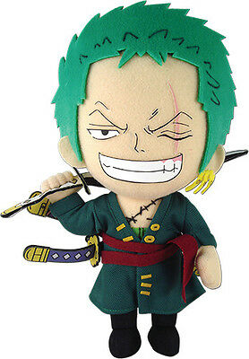 "Official Time Skip Roronoa Zoro 9"" Plush Toy - GE-52803 - One Piece New World"