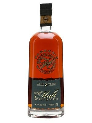 Parkers Heritage Collection 8 Year Old Straight Malt Whiskey 750ml
