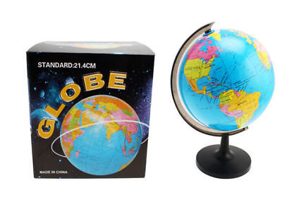 World Spining globe on stand country & state definition