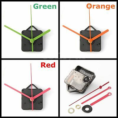 Colorful Hands DIY Quartz Clock Spindle Movement Mechanism Repair Tool Parts Kit