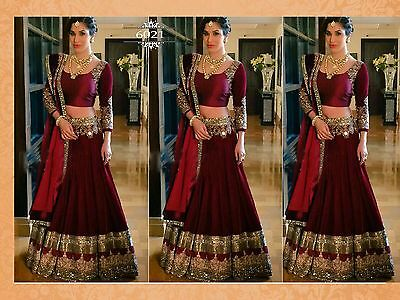 Bollywood Traditional Indian Designer Ethnic Lehenga Choli Party Wear Dress New