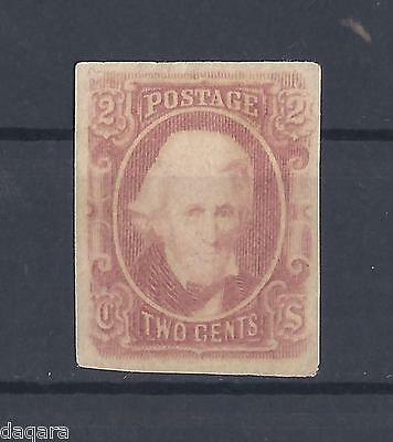 (US) USA stamp , 1863 Andrew Jackson 2 cents Confederate States