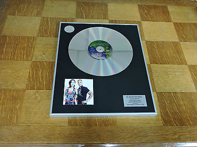 2 UNLIMITED the real thing  DISCO DE PLATINO / PLATINUM DISC