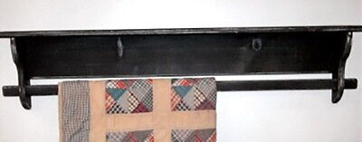 Rustic Primitive Country Quilt Rack Available in 2 Sizes -  Amish Made in USA