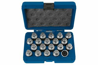 Laser 6427 VW Locking Wheel Nut Key Master Set