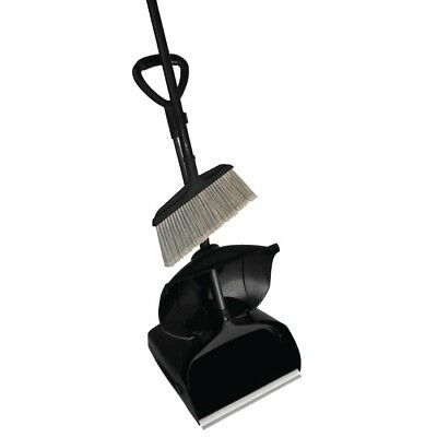 Jantex Lobby Dustpan & Brush Set Cleaning Equipment Supplies Sweeper Broom Mop