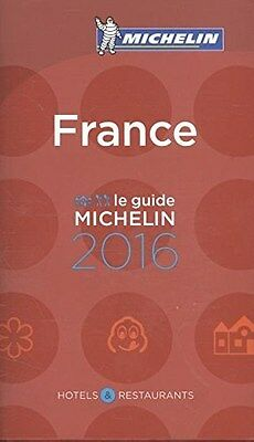 France 2016 (Michelin Red Guide France) (French) 9782067206335