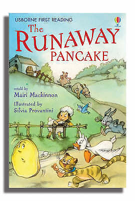 The Runaway Pancake Hard Back Usborne 9780746070529