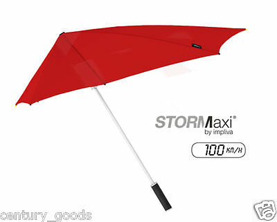 HIGH QUALITY  IMPLIVA STORmaxi AERODYNAMIC 100km/hr STORM PROOF UNISEX UMBRELLA