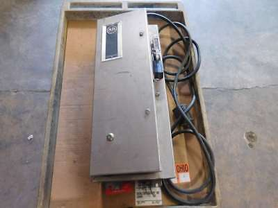 Allen-Bradley Stainless Enclosure w/ Disconnect Switch Control and HMCP007C0C...