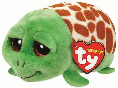 Cruiser Turtle - Teeny Ty- 6cm Mini TY Plush Teddy - Brand New Soft Toys