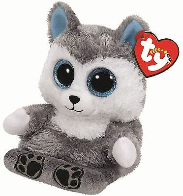 Scout Husky - Ty Peek-A-Boo - Boo Plush Teddy - Mobile Phone Holder Soft Toys