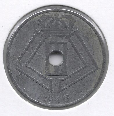 25 cent 1946 vlaams/frans * PRINS KAREL *