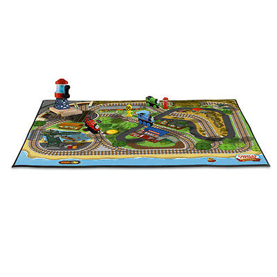 Thomas Isle of Sodor FELT PLAYMAT- NEW in pkg -Free PRIORITY mail ship from USA!