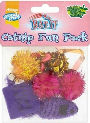 Catnip Cat Toy Pack Of 6 Small Assorted Catnip Toys For Cats And Kittens
