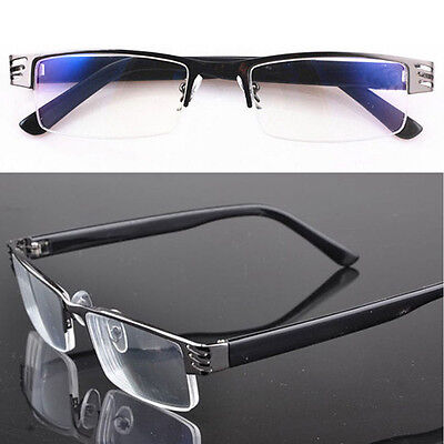 New Reading Glasses Hot Coating Metal Half-frame Glasses Reading +1.0 to 4.0