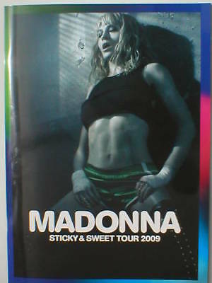 MADONNA sticky & sweet tour 2009 tour programme - 64 pages official ex tour