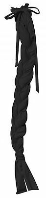 Showman BLACK Durable Lycra Braid-In Tail Bag! NEW HORSE TACK!