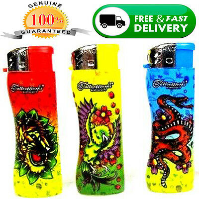 7' BIG Cigarette Cigar Tatoo Lighter Refillable