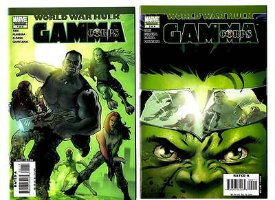 World War Hulk: Gamma Corps #1-4 (2007) Marvel VF/NM to NM-