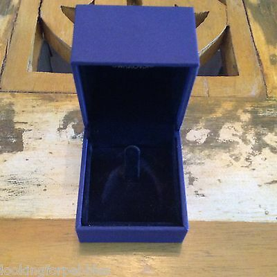 """New! EMPTY Swarovski Box RING Gift ONLY! 1 7/8"""" FLIP TOP with TAB ONLY!"""