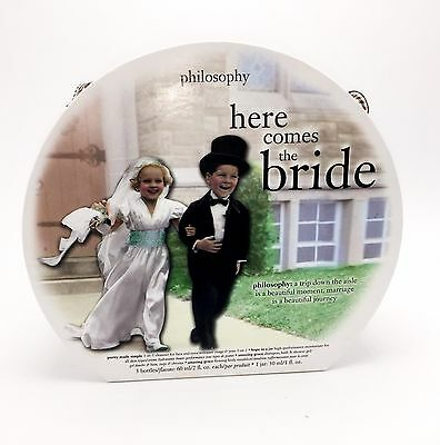 Here Comes The Bride Philosophy Gift Set damage on box