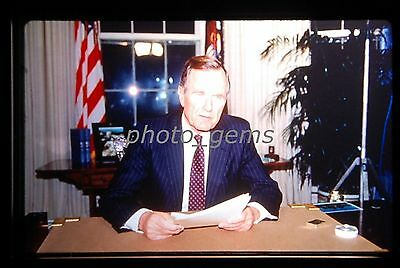 George Bush  Original 35mm Color Promo Slide