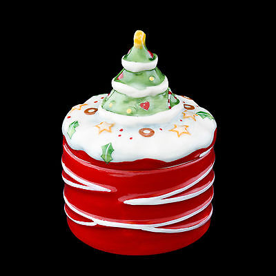 Winter Bakery Decoration - Mini Dose Kuchen 8 cm - Villeroy & Boch - Weihnachten